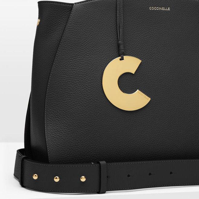 Concrete Maxi Bag - Black