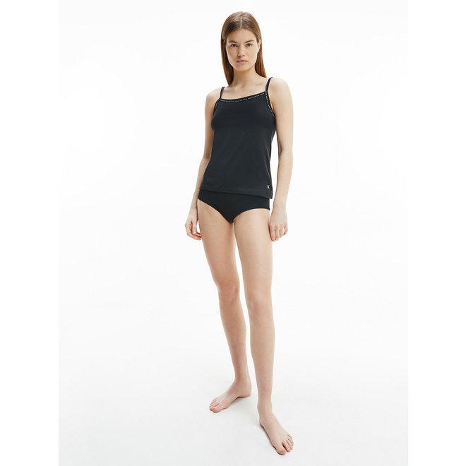2 Pack Cami Pyjama Tops - CK ONE - Black