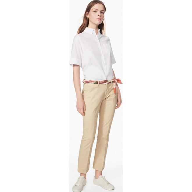 Short-Sleeved Windblown Oxford Shirt