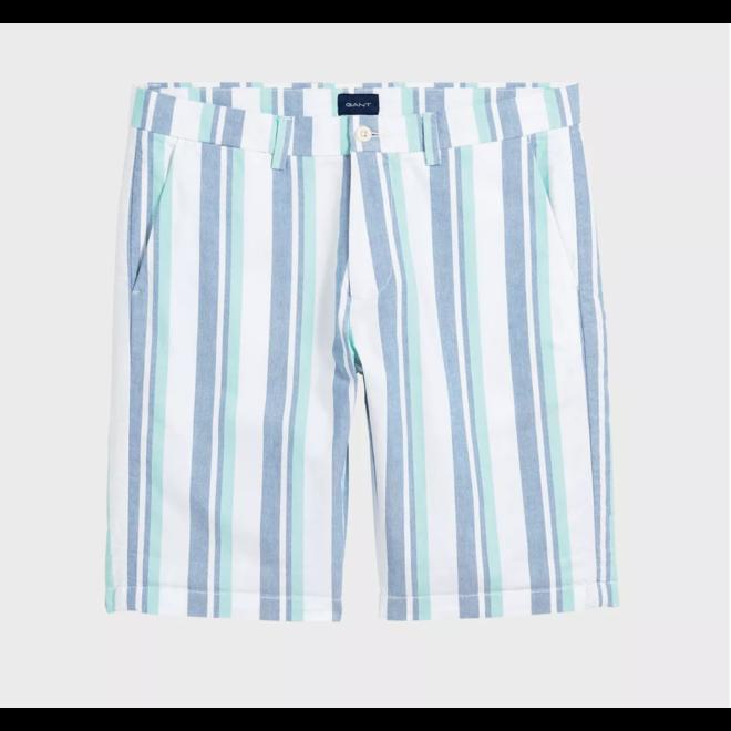 Checked Shorts Men - White
