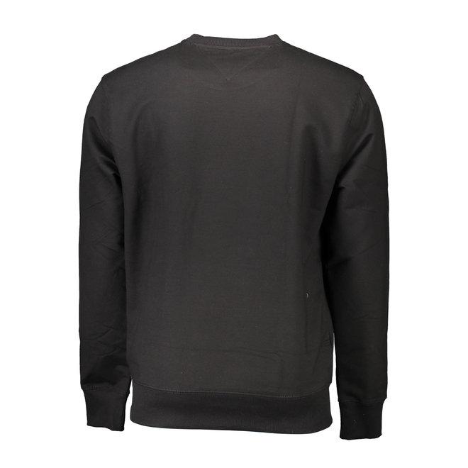 Lightweight Crew Neck Sweatshirt - Black