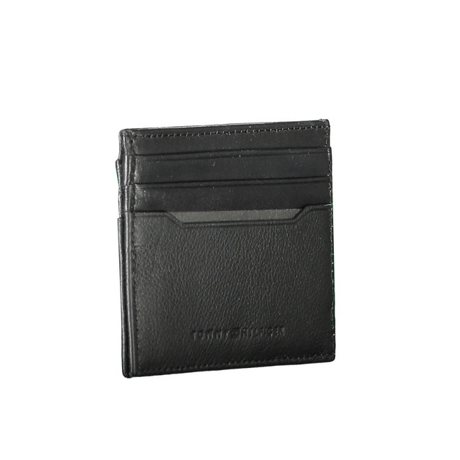 Downtown Textured Leather Credit Card Holder