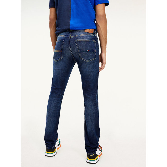 Scanton Slim Faded Recycled Cotton Jeans