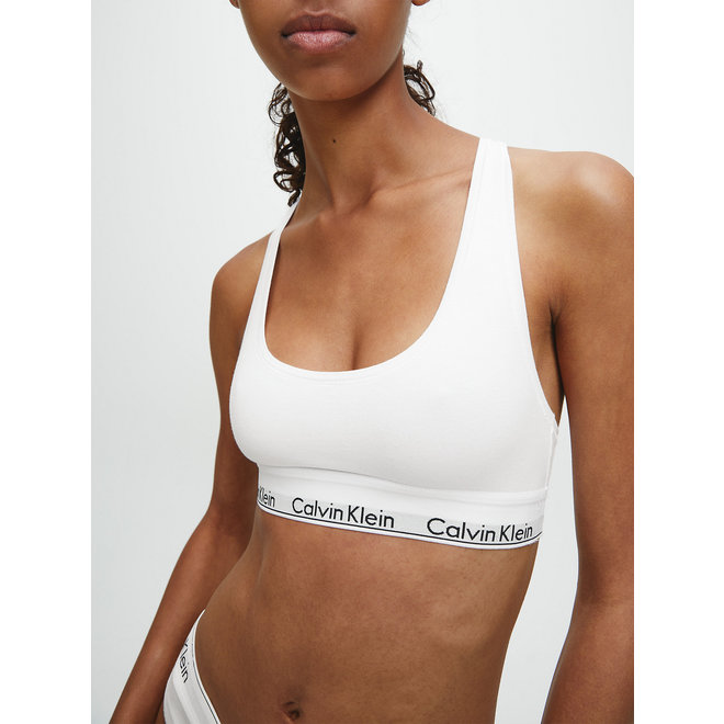 Bralette - Modern cotton - White
