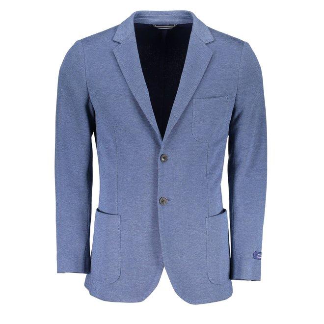 Classic Cotton Blazer - Light Blue
