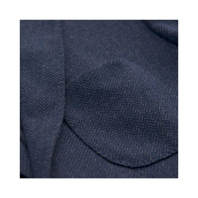 Men's Herringbone Jersey Blazer - Marine