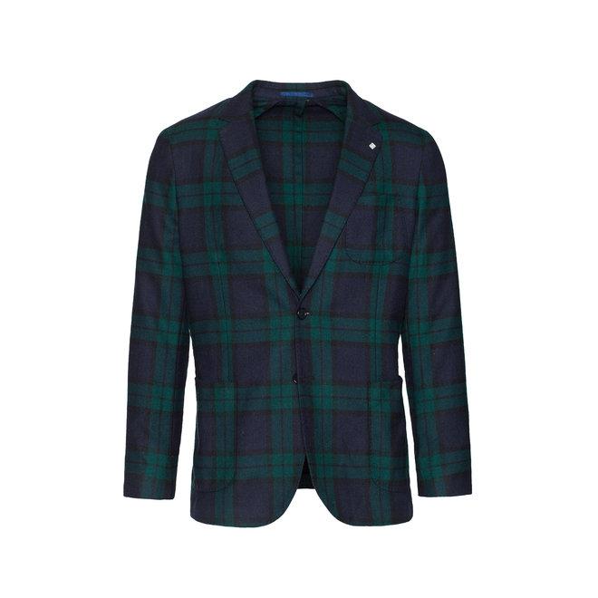 Washable Wool Sports Blazer -Green