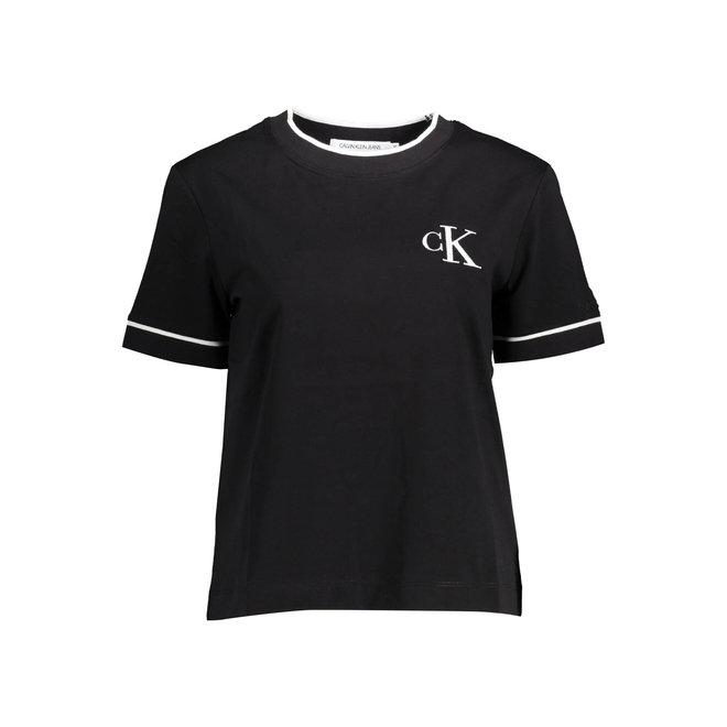 Organic Cotton Logo T-shirt - Black