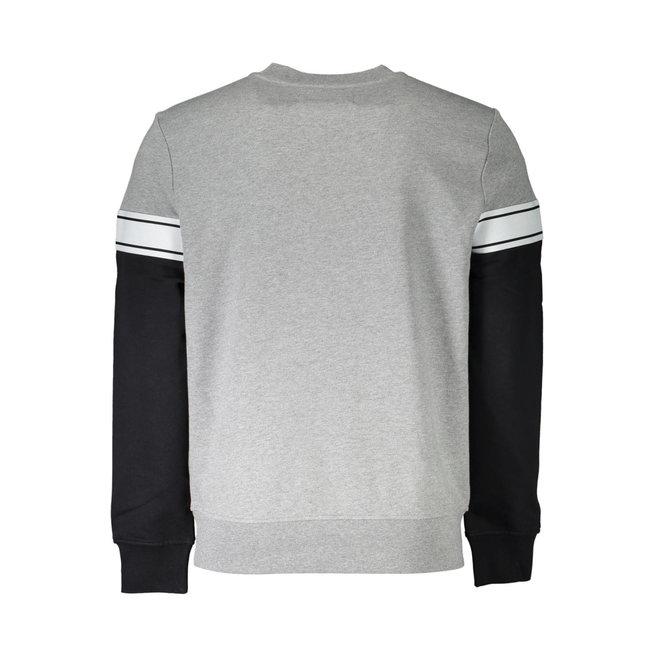 Logo stripe sweatshirt - Grey