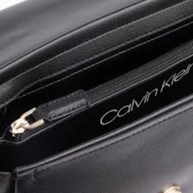 Frame top handle satchel Bag - Grey