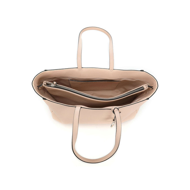Handbag Sided Shopper W/Laptop Sleeve  - Beige