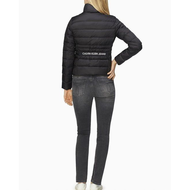 Fitted Puffer Jacket Women - Black