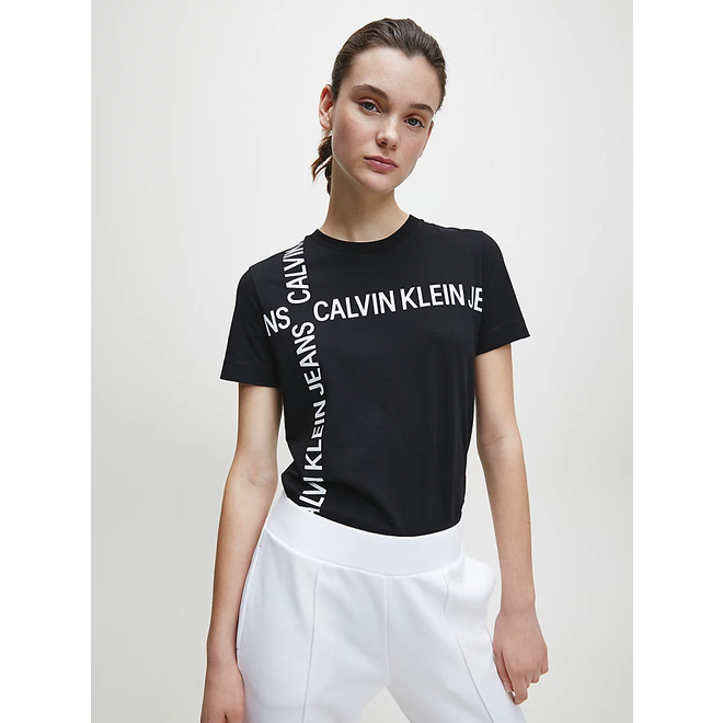 Black Organic Cotton Logo T-shirt
