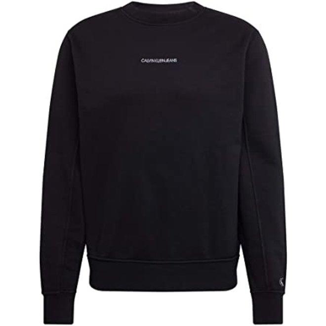 Cotton Terry Sweatshirt - Black