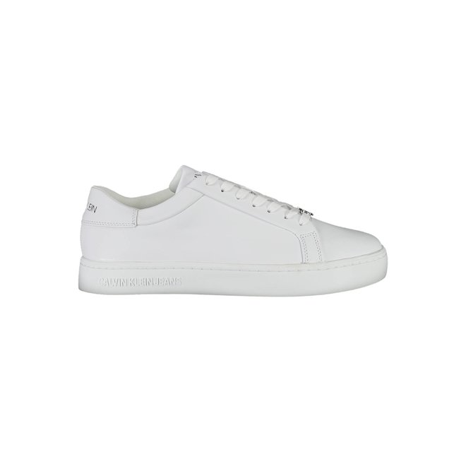 White Leather Sneakers Men