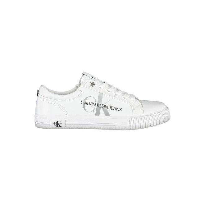 Vulcanized Sneaker Laceup - White