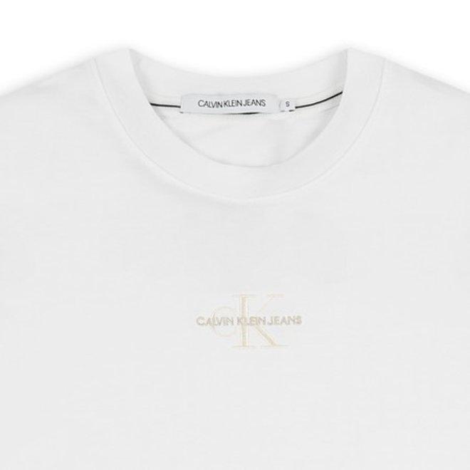 Logo-embroidered organic cotton t-shirt