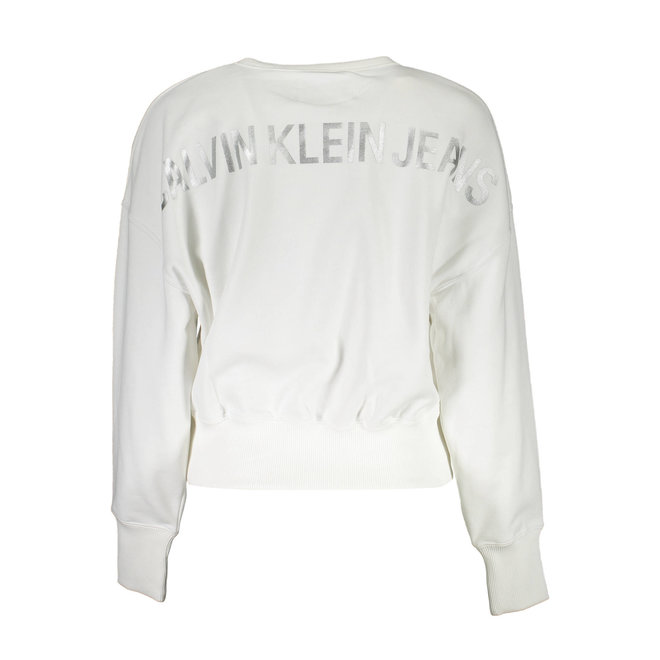Back Logo Sweatshirt Women - White