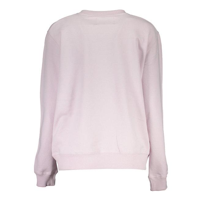 Lila Metallic Stripe Logo Sweatshirt Women