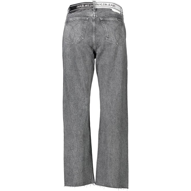 Women High Rise Straight Ankle jeans