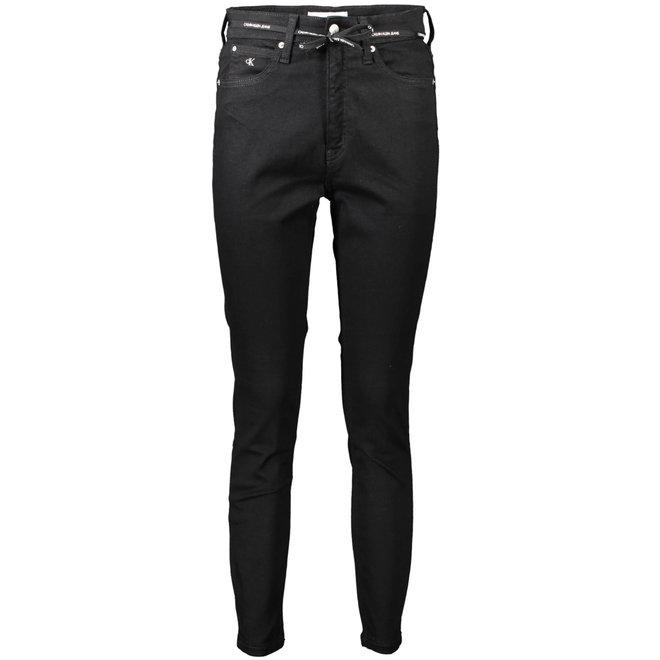 Black High Rise Super Skinny Ankle Jeans Women