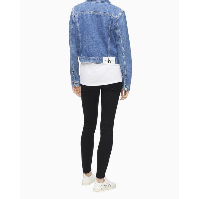 Cropped Trucker Jeans Jacket Women