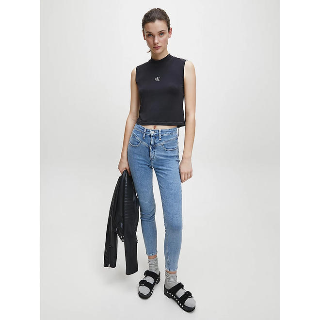 High Rise Super Skinny Ankle Jeans Women