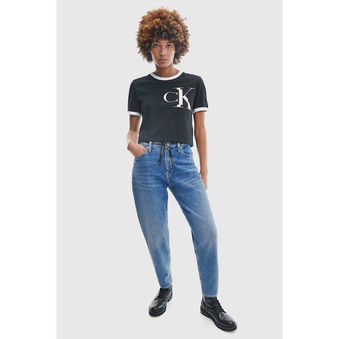 Women Mom Denim Jeans