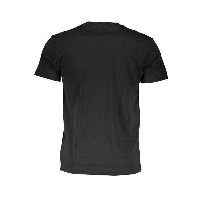 Black Organic Cotton Pocket T-Shirt Men