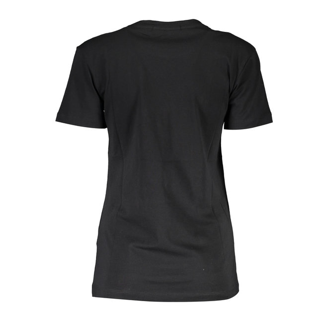 Irisescent Metallic Logo Slim-  Black
