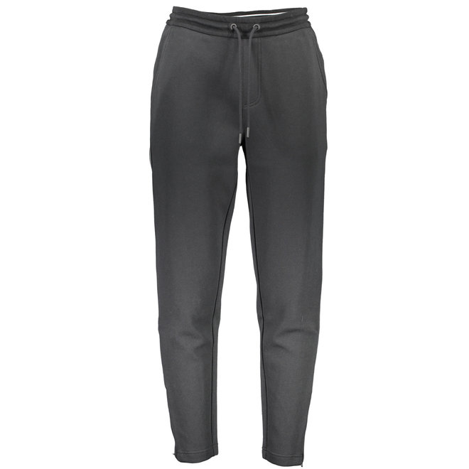 Black Logo Tape Pant Black Men