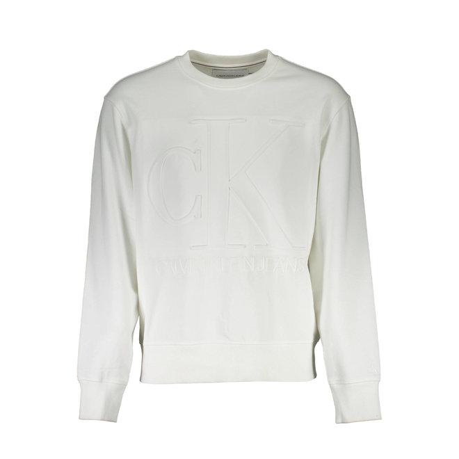 White Crewneck Sweatshirt Men