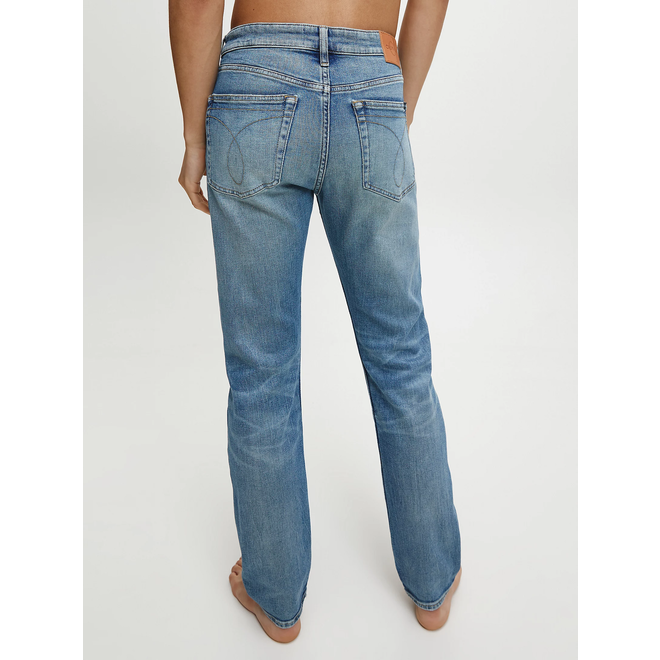 Slim tapered jeans - AB020 Bright blue dstr