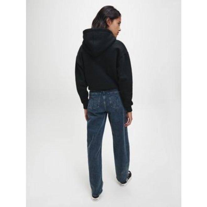 Women Eco Series Cotton Blend Hoodie - Black