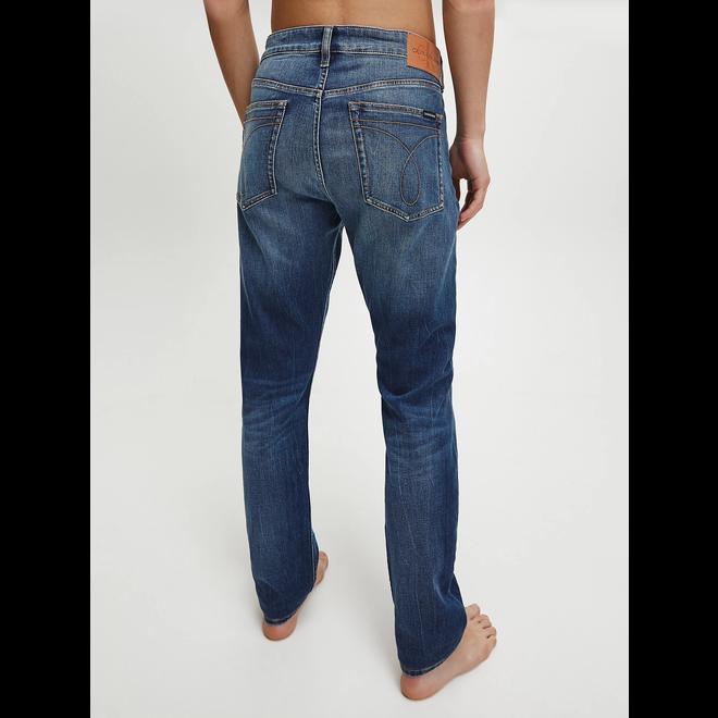 Slim tapered jeans - AB005 Dark blue