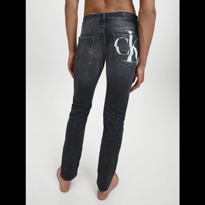 Slim jeans - BB227 Black CK Print