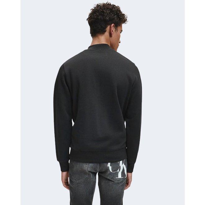 Black Monogram Logo Sweatshirt Men