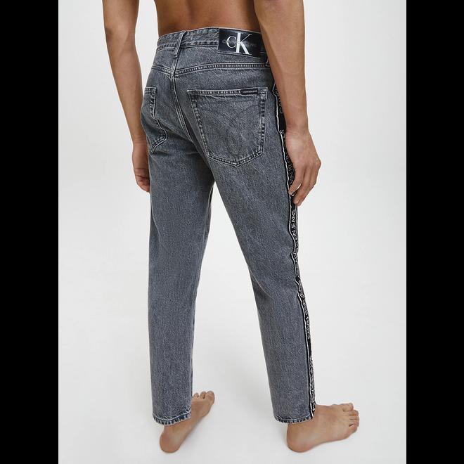 Side logo dad jeans - AC105 Grey tape