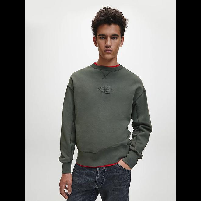 Green Monogram sweatshirt Men