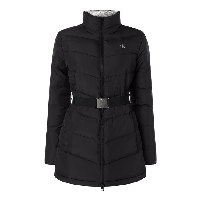 Black Quilted jacket Women