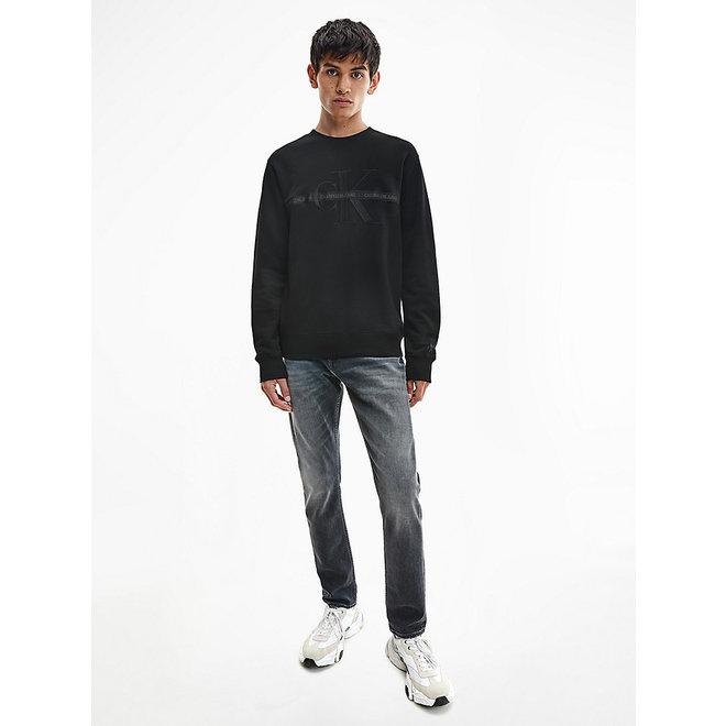 Black Logo Sweatshirt  Men