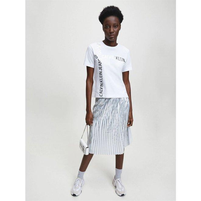 White Organic Cotton Logo T-shirt