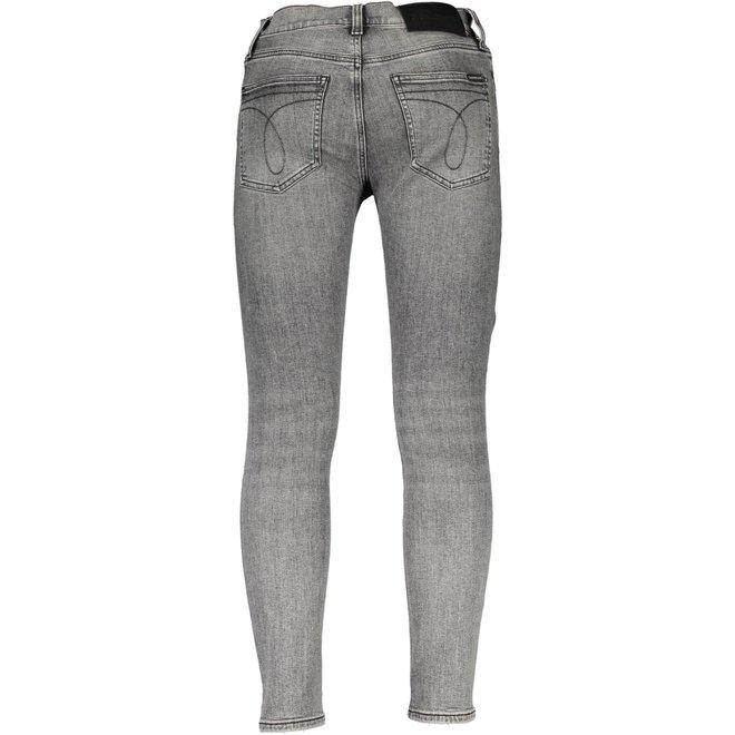 Grey Slim Jeans Men