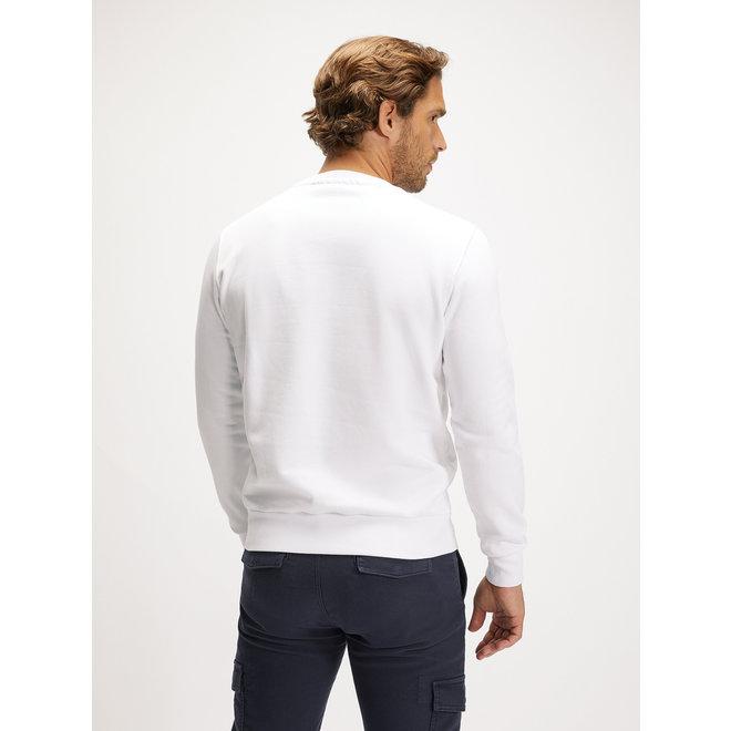 Organic cotton sweatshirt - White