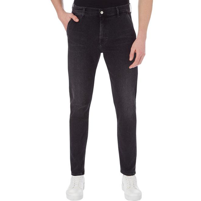 Black Chino jeans Men