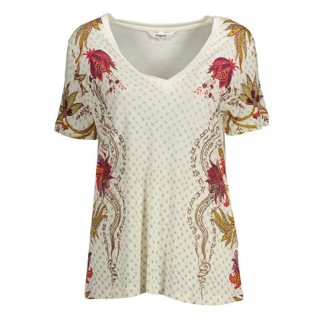 T-shirt short sleeve - White