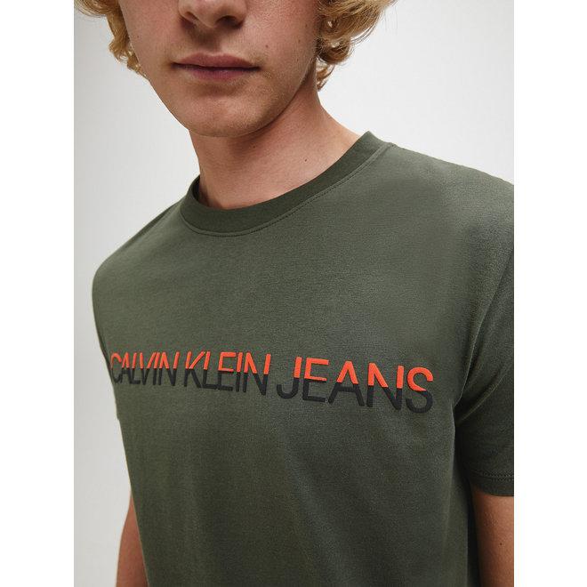 Organic Cotton Logo T-shirt - Deep Depths