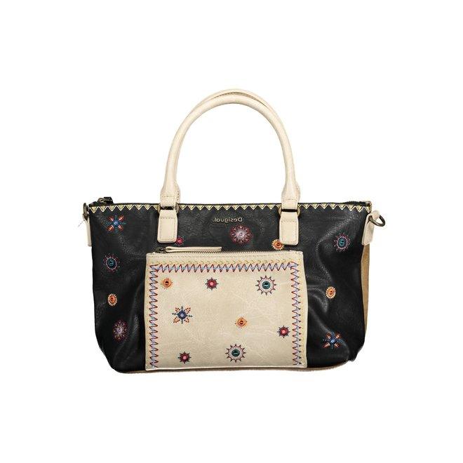Multicolor handbag Cristal Moon Padua - Brown