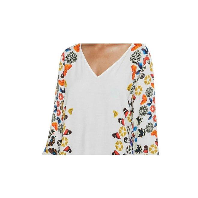 Short dress mandalas Women - White