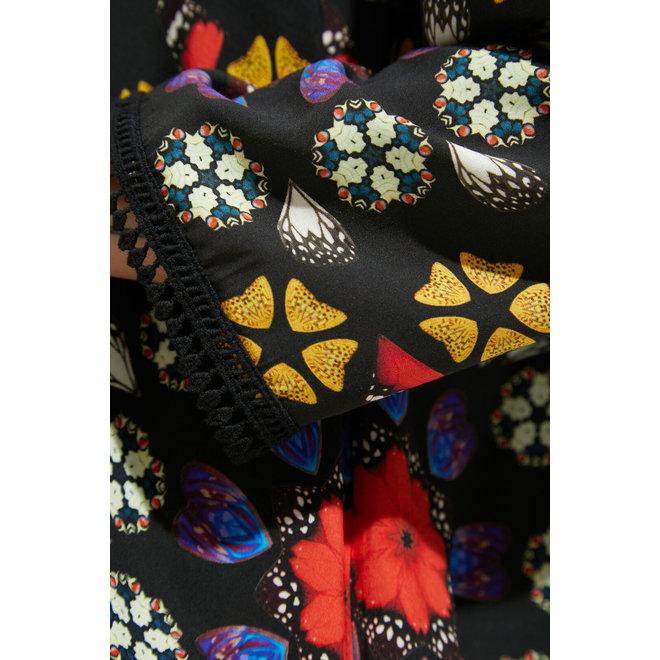 Short dress mandalas Women - Black